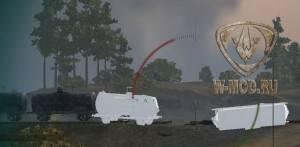 Белые вагоны на картах World of Tanks