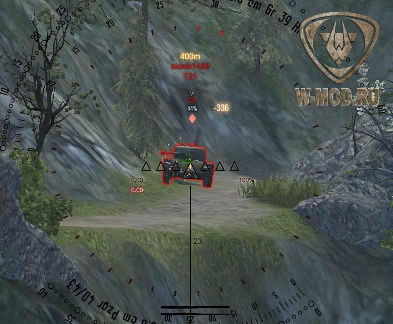 mod для world of tanks прицелы