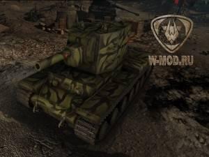 КВ-2 в ангаре к Дню Победы 9го мая