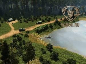 Общий план ангара Тундра