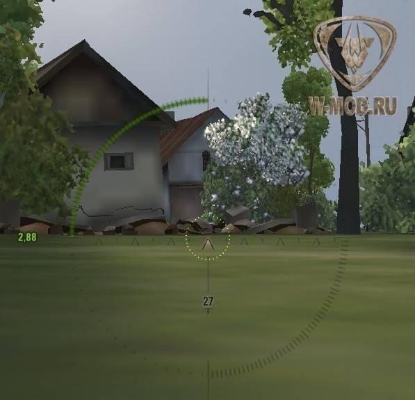 С помощью BrokenDestructibles на карте удалены простреливаемые объекты