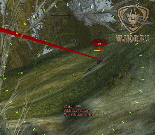 Перезарядка врагов и лазерная указка